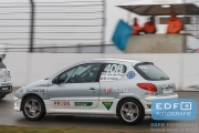 Christ van der Peijl - Michel le Noble - Peugeot 206 GTi - REC Racing