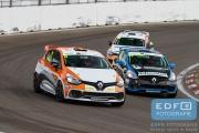Stéphane Polderman - Bleekemolen - Renault Clio 4 - Paasraces 2015 - Circuit Park Zandvoort
