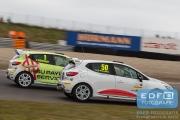 Loris Hezemans Jr. - Sebastiaan Bleekemolen - Bleekemolen - Renault Clio 4 - Paasraces 2015 - Circuit Park Zandvoort