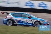Dennis de Borst - Martin de Kleijn - SEAT Leon Cup Racer - FEBO Racing Team - Ferry Monster Autosport - Supercar Challenge - Supersportklasse - Paasraces 2015 - Circuit Park Zandvoort