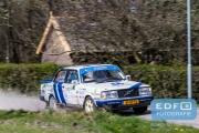 Thom de Jong - Sjoerd Weernink - Volvo 240 Turbo - Rally van Putten 2015