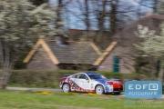Antoine Biesheuvel - Frans van den Einde - Nissan 350Z Challenge - Rally van Putten 2015