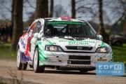 Will Bruins - Mark Schuitert - Opel Astra G Kitcar - Short Rally van Putten 2015