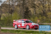Martijn Broekhuizen - Patrick Lipholt - Mitsubishi Lancer EVO 6 - Short Rally van Putten 2015