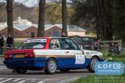 Edwin Abbring - Mathijs van Dormalen - BMW 325i E30 - Short Rally van Putten 2015