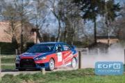 Marco Schapers - Jac Gillis - Mitsubishi Lancer EVO 10 - Rally van Putten 2015