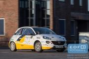 Timo van der Marel - Rebecca Smart - Opel Adam R2 - Rally van Putten 2015