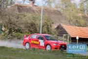 Jasper van den Heuvel - Lisette Bakker - Mitsubishi Lancer EVO 10 - Rally van Putten 2015