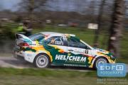 Henk Vossen - Eddy Smeets - Mitsubishi Lancer EVO 10 - Rally van Putten 2015