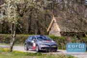 Kevin van Deijne - Harmen Scholtalbers - Renault Clio R3T - Rally van Putten 2015