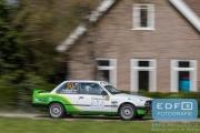 Rick Mollink - Arjan Reefhuis - BMW 325i E30 - Rally van Putten 2015