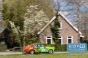 Mark Brands - Roy Vincentie - Opel Kadett GTE Gr. S. - Short Rally van Putten 2015