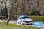 Tim Brinksma - Jeroen de Vos - Opel Adam Cup R2 - Short Rally van Putten 2015