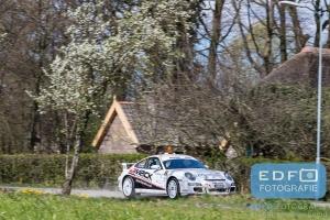 Eddy van den Hoorn - Theo Badenberg - Porsche 997 GT3 - Rally van Putten 2015