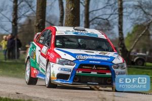 Tibor Erdi - Gregeley Patko - Mitsubishi Lancer EVO 10 - Rally van Putten 2015
