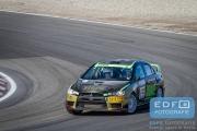 Antoine van Ballegooijen - Johan Findhammer - Mitsubishi Lancer EVO 10 - RallyPro Circuit Short Rally 2015 - Circuit Park Zandvoort