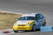 Eep Borgers - Hester van Ovost - Opel Astra F GSi 16v - RallyPro Circuit Short Rally 2015 - Circuit Park Zandvoort