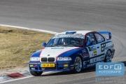 Jurgen de Bruin - Maarten Ruijten - BMW M3 E36 Gr. S - RallyPro Circuit Short Rally 2015 - Circuit Park Zandvoort