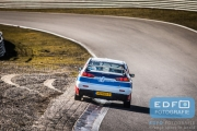 Marcel van Leeuwen - Annette Vogelenzang de Jong - Mitsubishi Lancer EVO 10 - RallyPro Circuit Short Rally 2015 - Circuit Park Zandvoort
