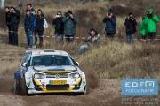 Hans Weijs - Wim Vleugels - Volkswagen Golf 4 Kitcar - RallyPro Circuit Short Rally 2015 - Circuit Park Zandvoort