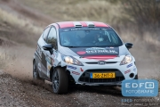 Kevin van Deijne - Martijn Wydaeghe - Ford Fiesta R2 - RallyPro Circuit Short Rally 2015 - Circuit Park Zandvoort