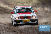 Mark Jansma - Marc van Nuyssenborgh - BMW 325i Challenge - RallyPro Circuit Short Rally 2015 - Circuit Park Zandvoort