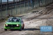 Mark Brands - Roy Vincentie - Opel Kadett GTE Gr. S - RallyPro Circuit Short Rally 2015 - Circuit Park Zandvoort