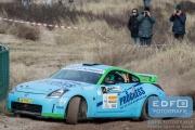 Roel van der Zanden - Ilse van de Sande - Nissan 350Z Challenge - RallyPro Circuit Short Rally 2015 - Circuit Park Zandvoort