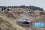 Marco Schapers - Jasper van den Heuvel - Mitsubishi Lancer EVO 10 - RallyPro Circuit Short Rally 2015 - Circuit Park Zandvoort