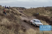 Theo van den Berg - Gerwin Biesheuvel - Ford Escort MK1 Gr. S - RallyPro Circuit Short Rally 2015 - Circuit Park Zandvoort