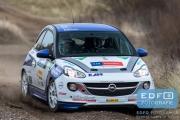 Tim Brinksma - Jeroen de Vos - Opel Adam Slam R2 - RallyPro Circuit Short Rally 2015 - Circuit Park Zandvoort