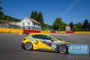 Dennis Houweling - Prsicilla Speelman - Ferry Monster Autosport - Seat Sport Leon Cup Racer - Supercar Challenge - Spa Euro Race - Circuit Spa-Francorchamps