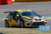 Dennis Houweling - Priscilla Speelman - Seat Leon Cup Racer - Ferry Monster Autosport - Supercar Challenge - Spa Euro Race - Circuit Spa-Francorchamps