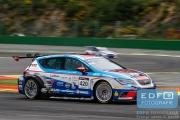 Dennis de Borst - Martin de Klein - Seat Leon Cup Racer - Ferry Monster Autosport - Supercar Challenge - Spa Euro Race - Circuit Spa-Francorchamps