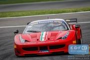 Martin Lanting - Martino Rosso Racing - Ferrari 458 GT2 - Supercar Challenge - Spa Euro Race - Circuit Spa-Francorchamps
