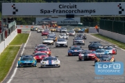 Start - Supercar Challenge - Spa Euro Race - Circuit Spa-Francorchamps