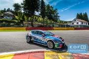 Dennis de Borst - Martin de Kleijn - FEBO Racing Team Ferry Monster Autosport - Seat Sport Leon Cup Racer - Supercar Challenge - Spa Euro Race - Circuit Spa-Francorchamps