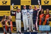Podium GTB - Marcel van Berlo - Frédérique Jonckheere - Ward Sluys - Pierre-Etienne Bordet - Supercar Challenge DTM - Circuit Park Zandvoort