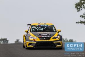 Priscilla Speelman - Dennis Houweling - Ferry Monster Autosport - SEAT Sport Leon Cup Racer - Supercar Challenge - Syntix Super Prix - Circuit Zolder