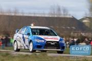 Gert van den Heuvel - Jim van den Heuvel - Mitsubishi Lancer EVO 10 - Tank S Rally 2015