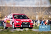 Jasper van den Heuvel - Lisette Bakker - Mitsubishi Lancer EVO 10 - Tank S Rally 2015