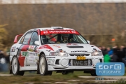 Piet van Hoof - Max Jacobs - Mitsubishi Lancer EVO 4 - Tank S Rally 2015