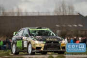 Antoine van Ballegooijen - Johan Findhammer - Mitsubishi Lancer EVO 10 - Tank S Rally 2015
