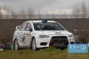 Robert Blomberg - Kristoffer Karlsson - Mitsubishi Lancer EVO 10 R4 - Tank S Rally 2015