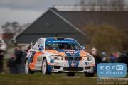Wouter Ploeg - Harm van Koppen - BMW 1M Coupé - Tank S Rally 2015
