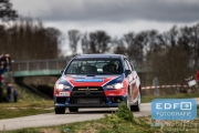 Marco Schapers - Jac Gillis - Mitsubishi Lancer EVO 10 - Tank S Rally 2015