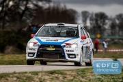 Marcel van Leeuwen - Annette Vogelenzang de Jong - Mitsubishi Lancer EVO 10 - Tank S Rally 2015