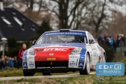 Antoine Biesheuvel - Frans van den Einde - Nissan 350Z - Tank S Rally 2015
