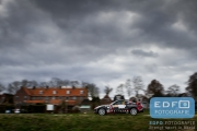 Arjan Heijstek - Gerwin Biesheuvel - Nissan 350Z - Tank S Rally 2015