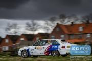 Sander van de Hel - Valentijn Martens - Opel Astra F GSi 16V - Tank S Rally 2015